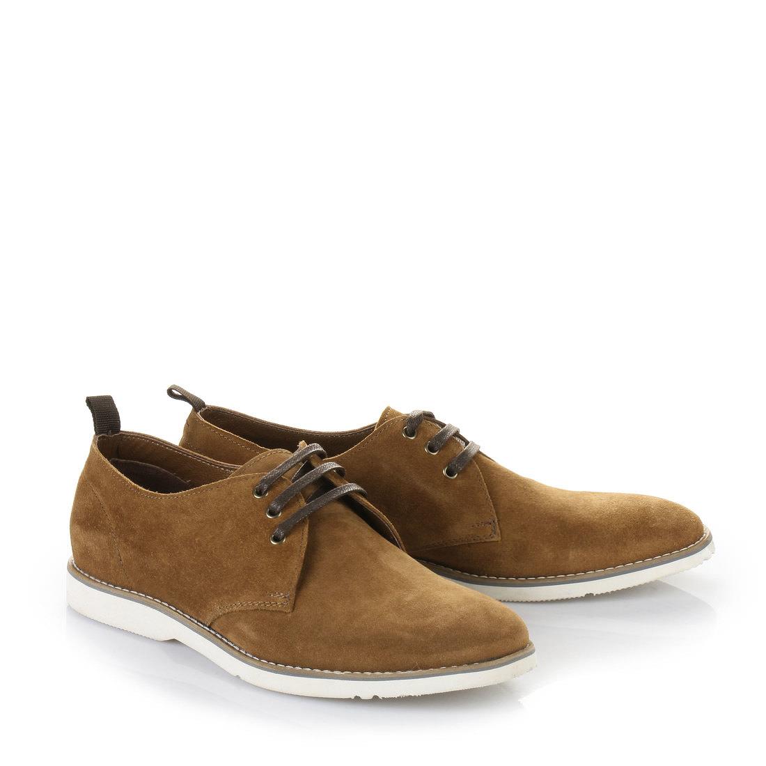 chaussures lacets buffalo pour homme cognac acheter buffalo en ligne buffalo. Black Bedroom Furniture Sets. Home Design Ideas