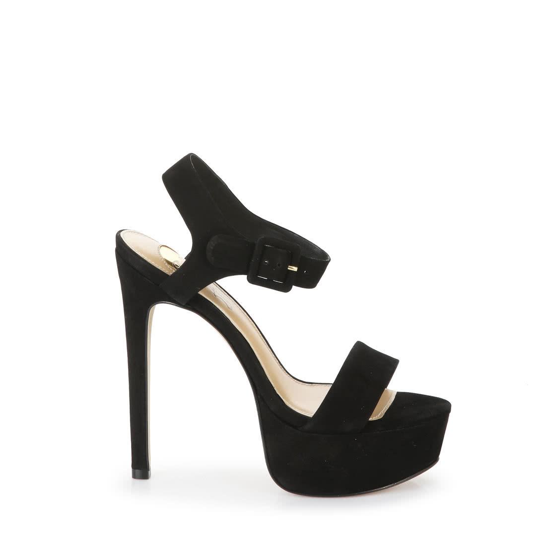 5c201455568 Buffalo platform sandals in black buy online in BUFFALO Online-Shop ...