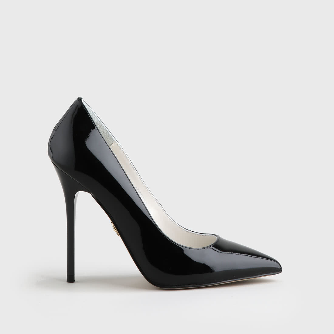 8dba47da0ef Buffalo pointed pumps patent leather 11 cm black buy online in ...