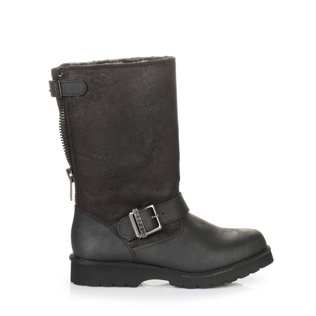 ab4594592d5b Buffalo Biker-Booties in schwarz mit Profilsohle online kaufen ...