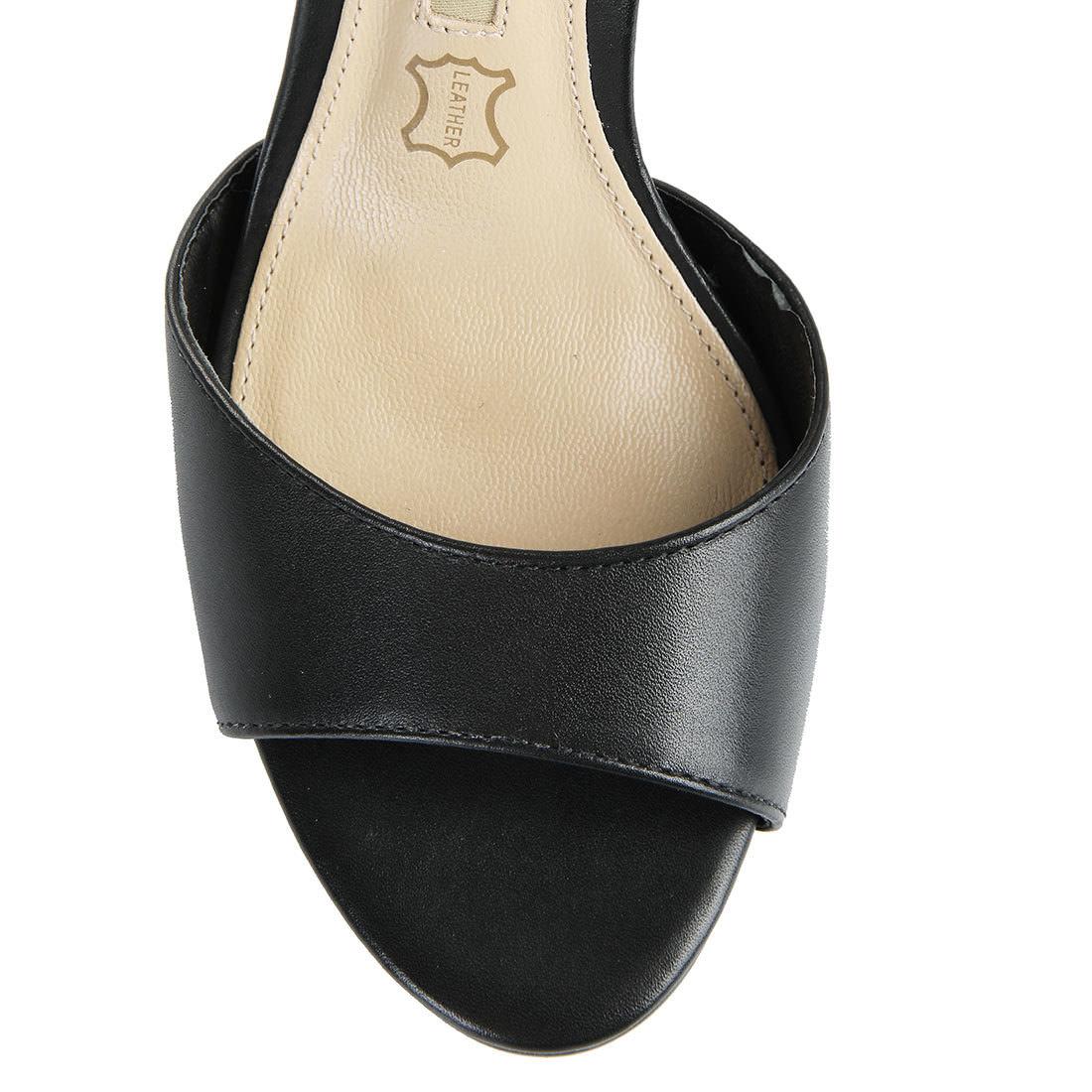 Buffalo Plateau-Sandalette in schwarz mit 10cm Absatz online kaufen ... 6bcbe34826