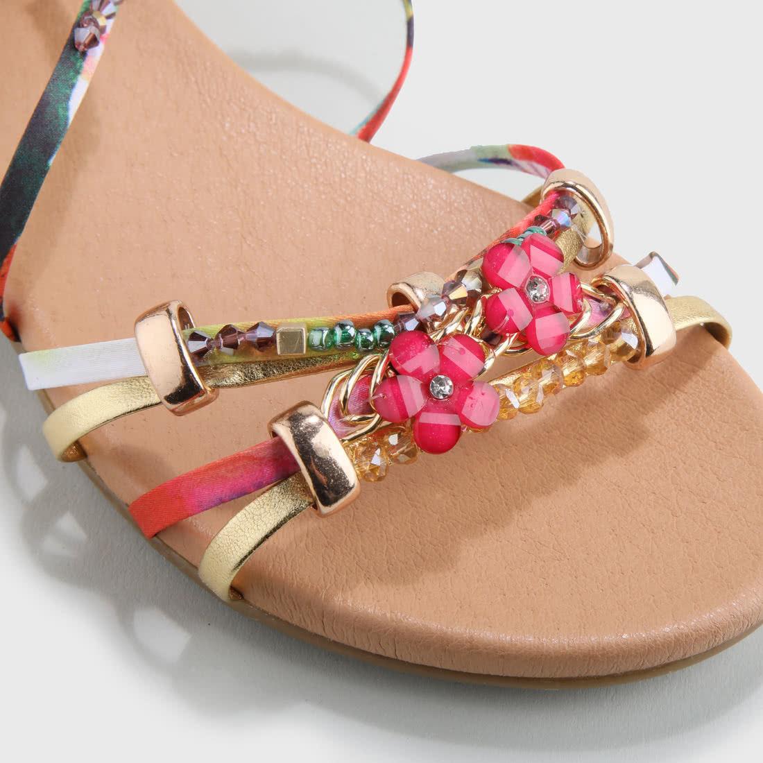 7a9b5943b65 Elora Sandals Suede Look Pink buy online in BUFFALO Online-Shop ...