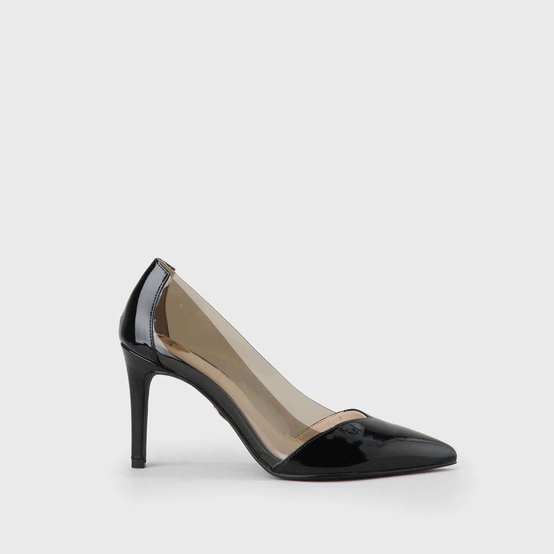 544c9fb9413 Alba escarpin soirée transparent-noir acheter à BUFFALO en ligne ...