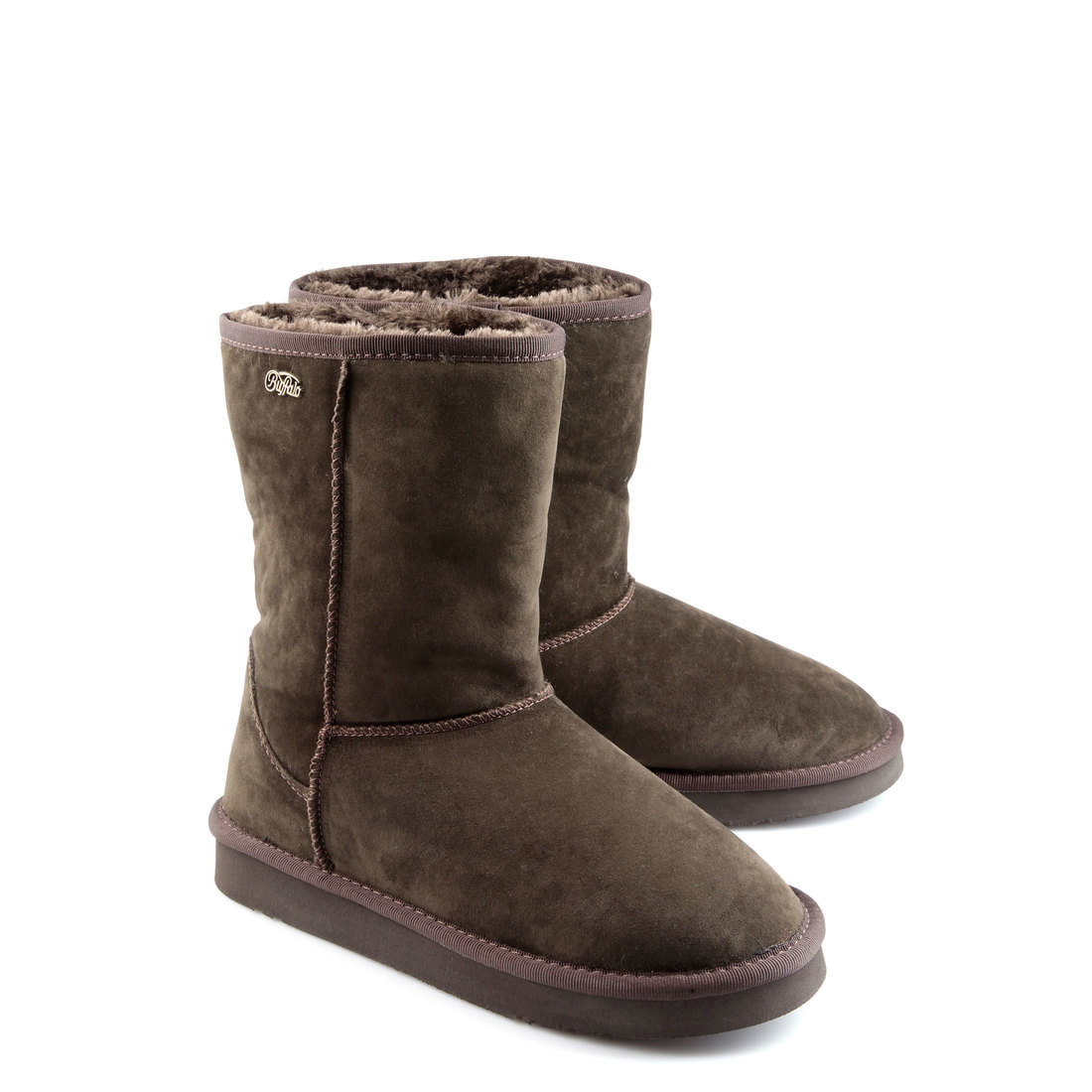 lined buffalo summer boots in brown buy in