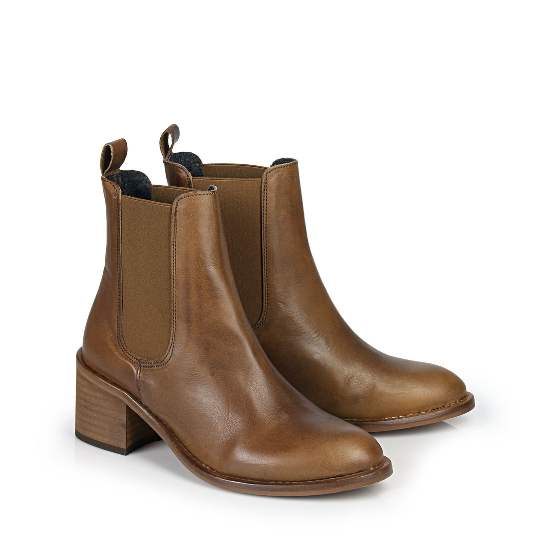 buffalo ankle boots in brown buy online in buffalo online shop buffalo online shop. Black Bedroom Furniture Sets. Home Design Ideas