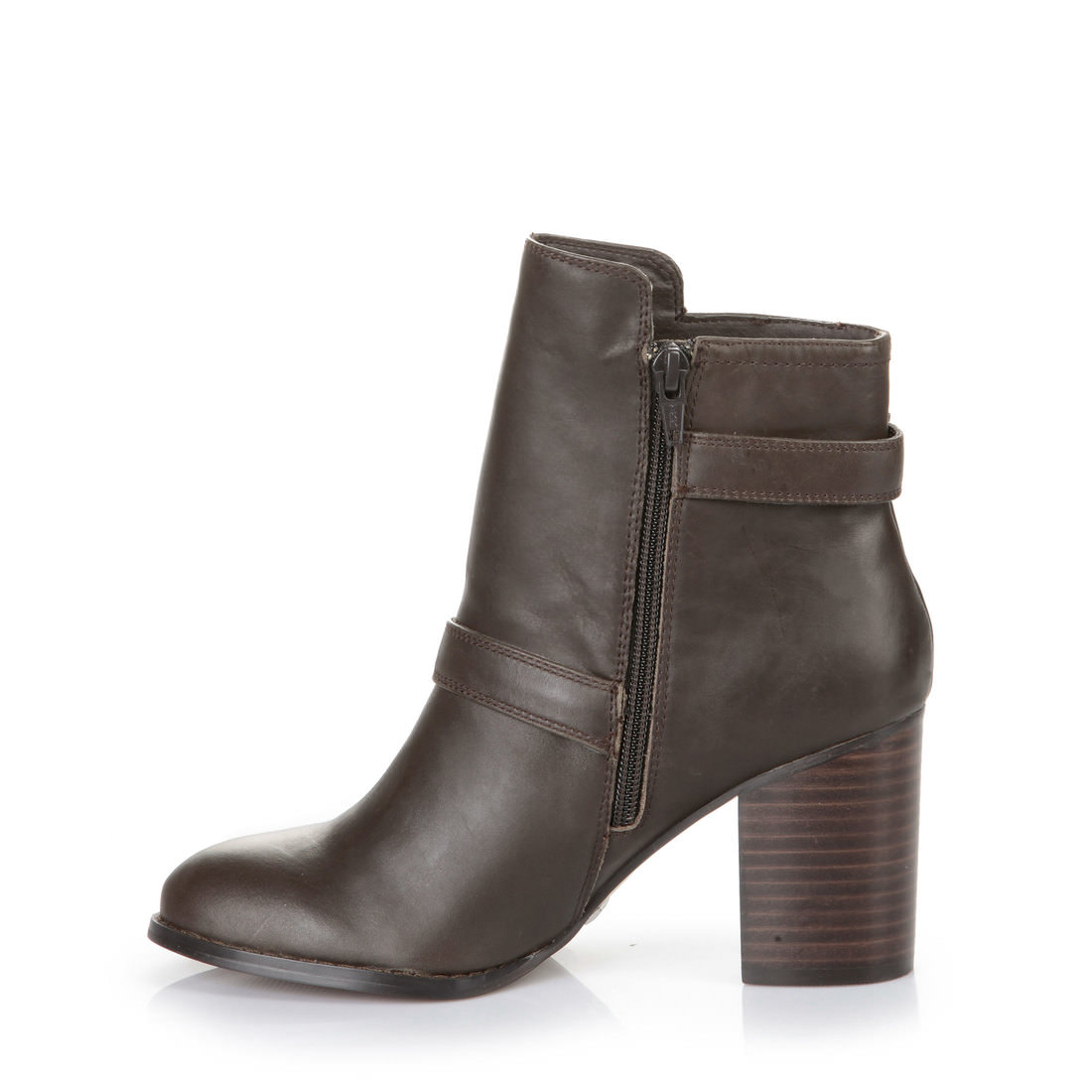 buffalo ankle boots in dark brown buy online in buffalo online shop buffalo. Black Bedroom Furniture Sets. Home Design Ideas