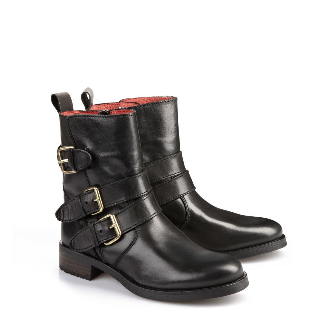 Boots fourrées Buffalo noiresBuffalo