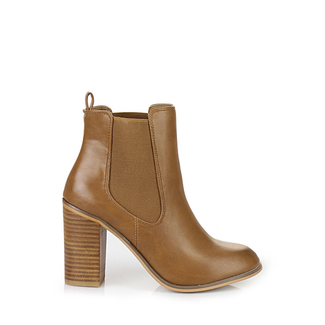 buffalo ankle boots in cognac buy online in buffalo online shop buffalo. Black Bedroom Furniture Sets. Home Design Ideas