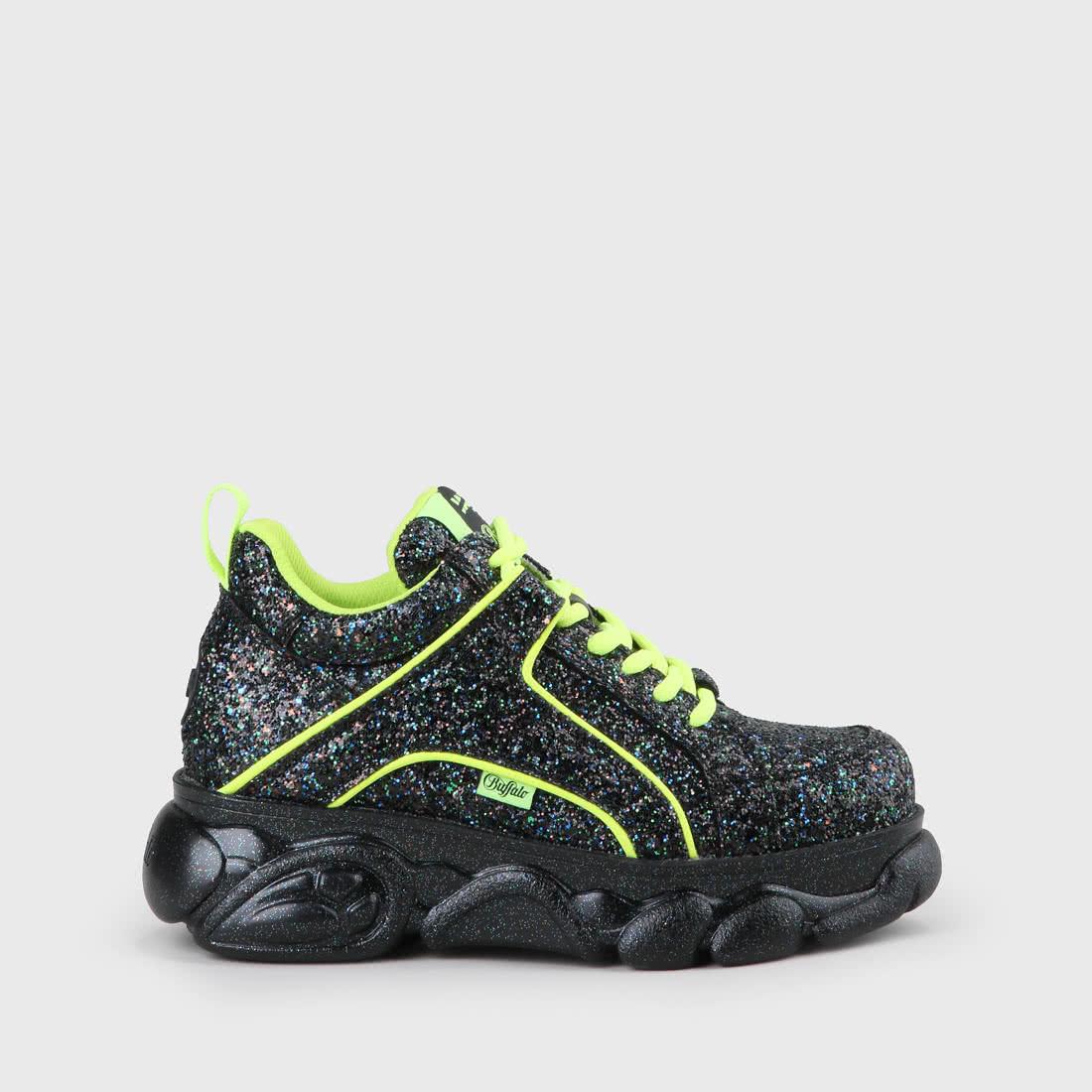 reputable site 8d3b0 28cd7 Jaded x CLD Corin Sneaker navy mit Glitzer
