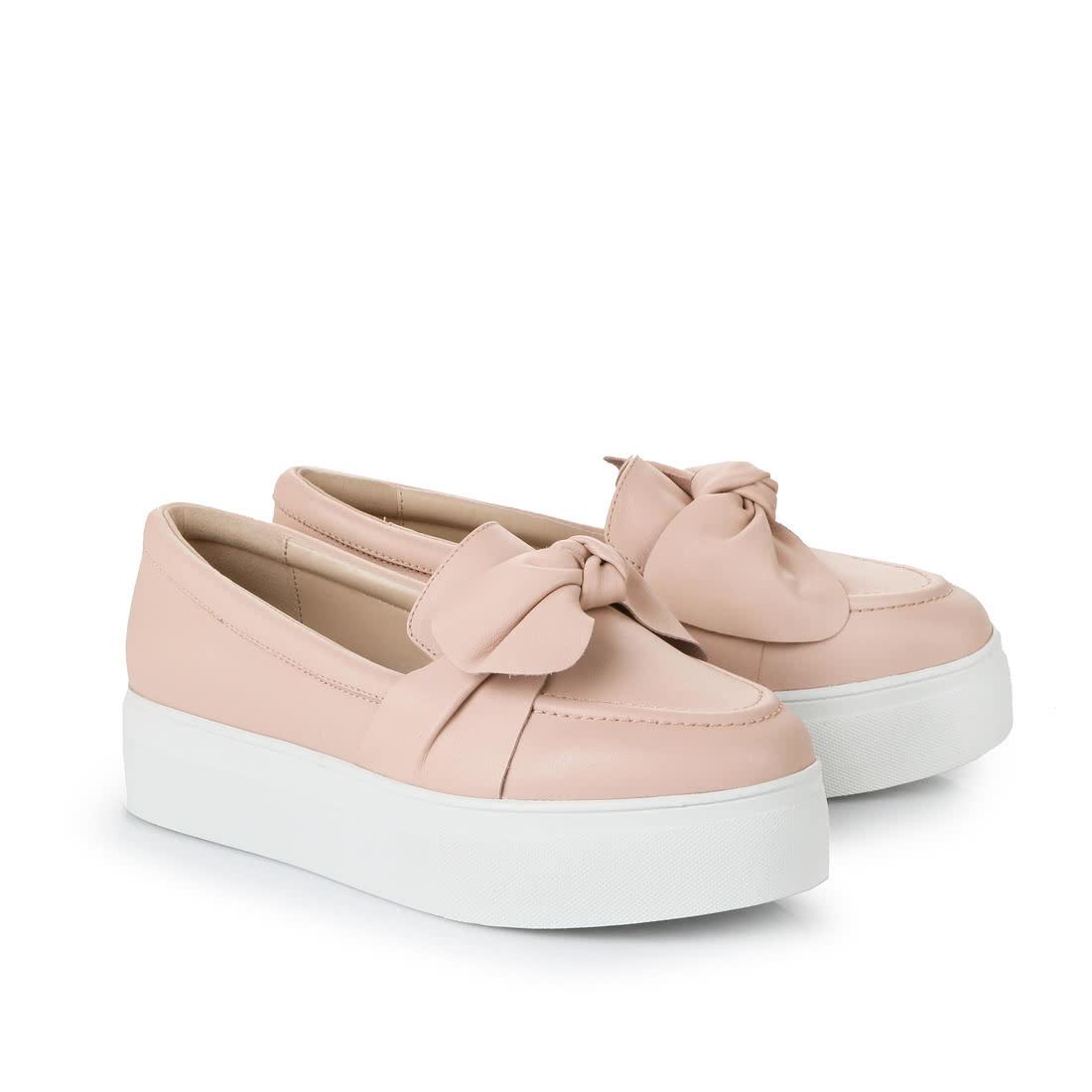 Buffalo platform slip-ons in rosé buy online in BUFFALO Online-Shop ... e92499c42