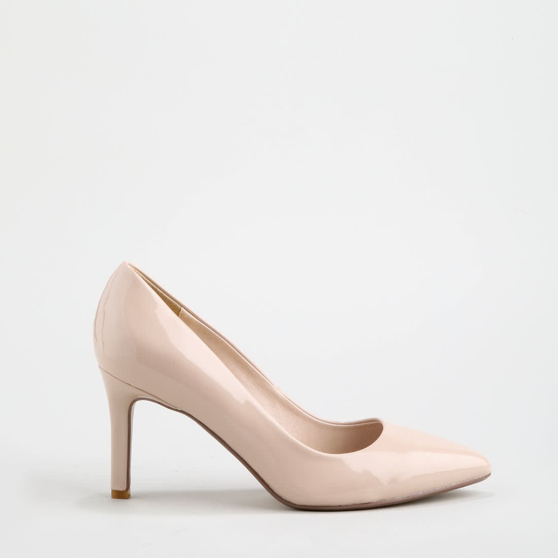 89729061737e Alivia pumps patent leather look nude buy online in BUFFALO Online ...