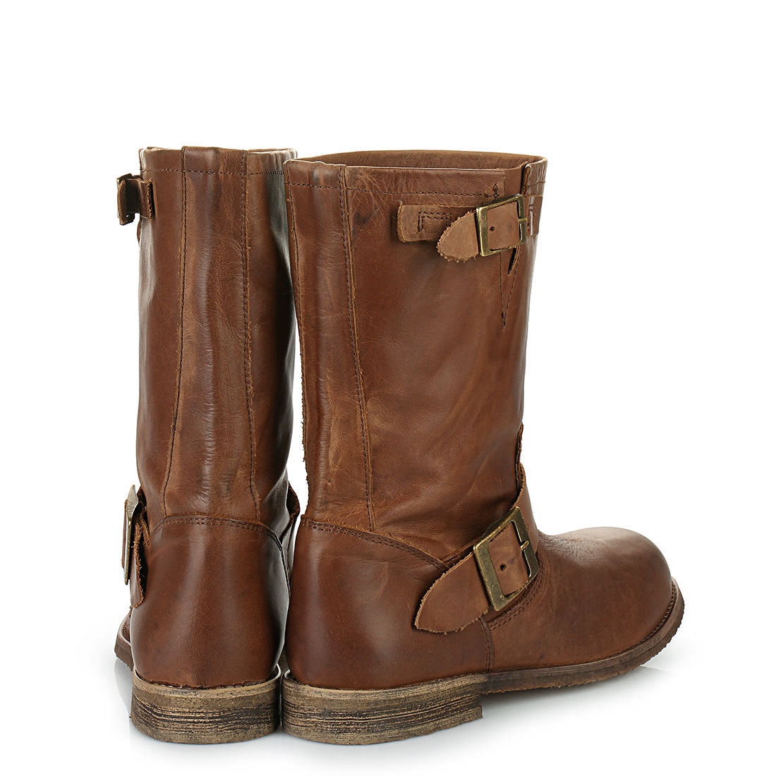 buffalo biker boots in cognac buy online in buffalo online shop buffalo. Black Bedroom Furniture Sets. Home Design Ideas