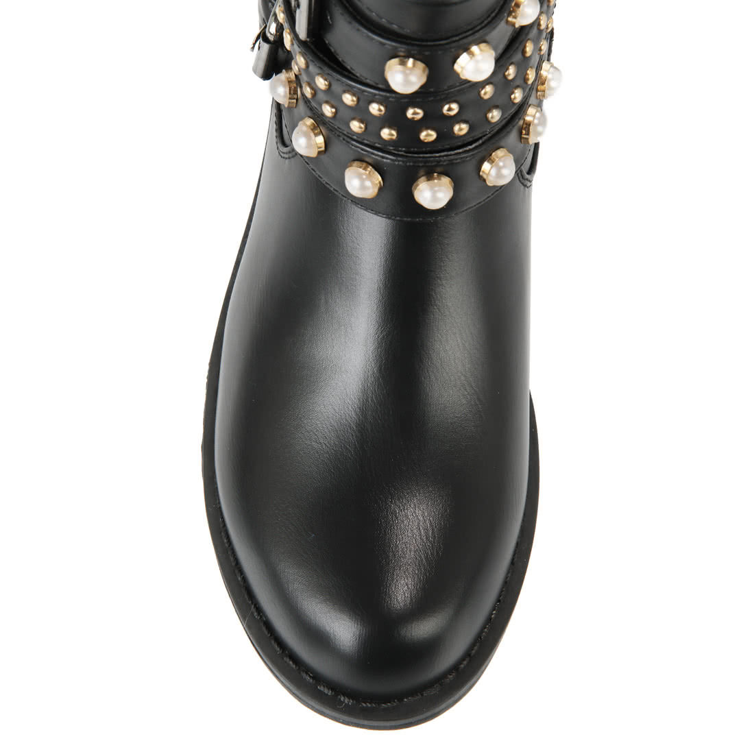 huge selection of 495d9 64e66 Buffalo black boots with beading buy online in BUFFALO ...
