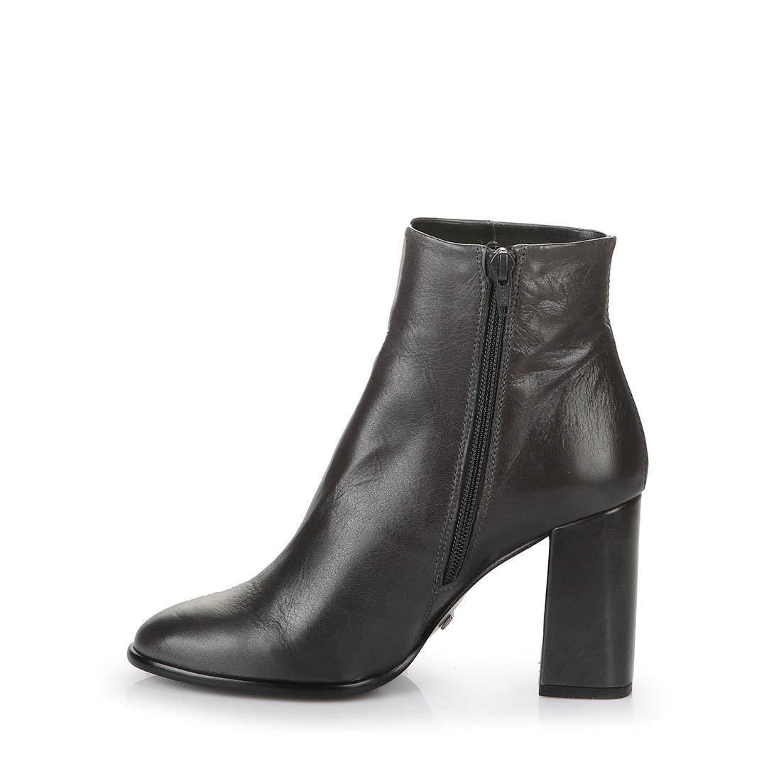 buffalo slim leg ankle boots in anthracite buy in