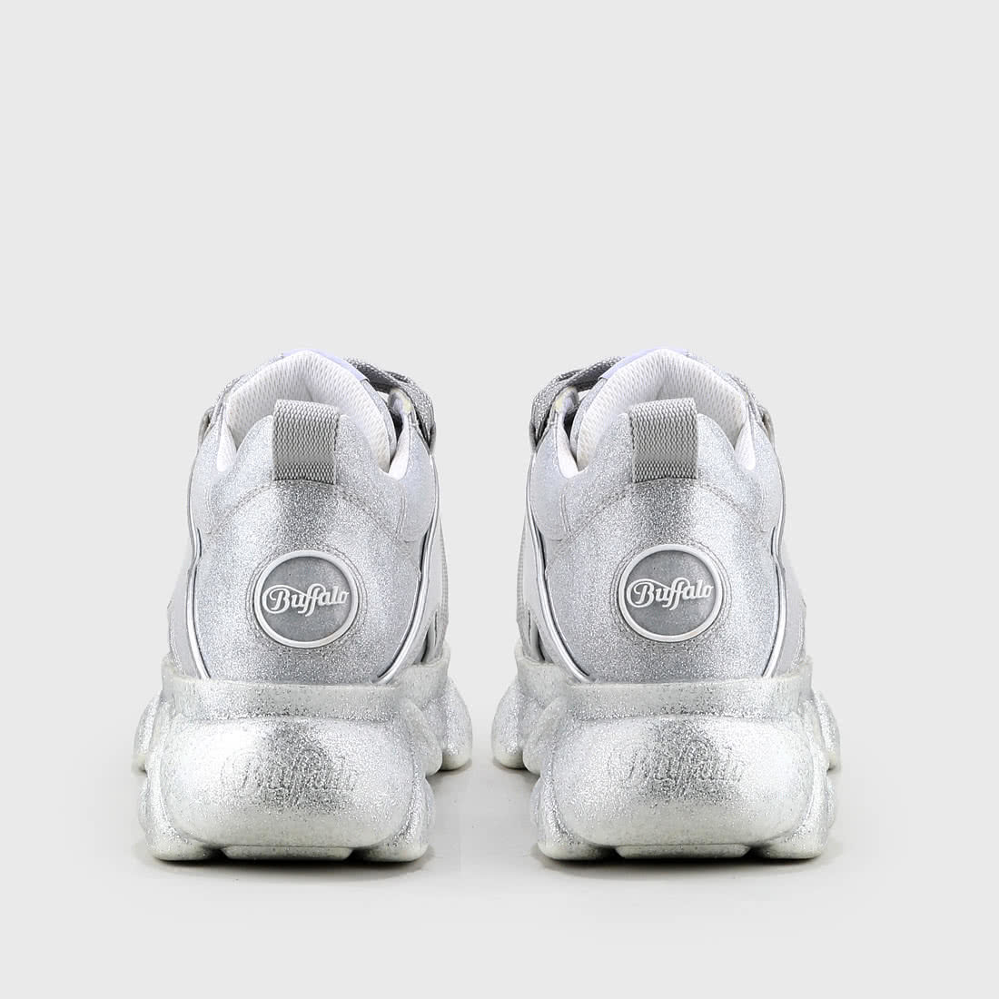 80ad9b3d316a CLD Corin sneaker glitter silver buy online in BUFFALO Online-Shop ...