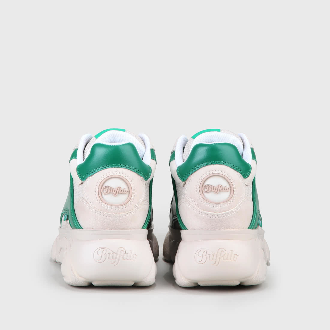 357a1e1f74b20e CLD Colby Sneaker aus Mesh und Lederoptik beige grün online kaufen ...