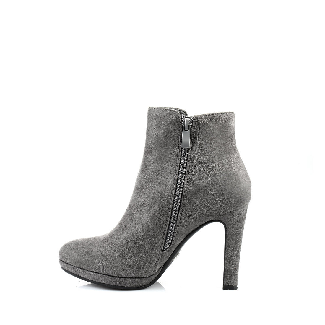 buffalo plateau ankle boots in grey buy online in buffalo online shop buffalo. Black Bedroom Furniture Sets. Home Design Ideas