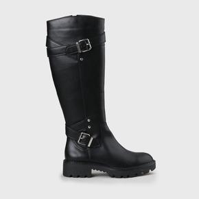 BELMONDO STIEFEL DAMEN Boots Gr. DE 38 schwarz #6a8e4ee