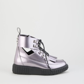 c845247fe1 Golden Haze Cut-Out Boot leather metallic purple