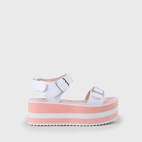 6cdc9e636 Edmee sandals platform sole white pink