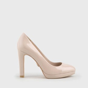 582989784aeb2c Buffalo Pumps Lackoptik nude