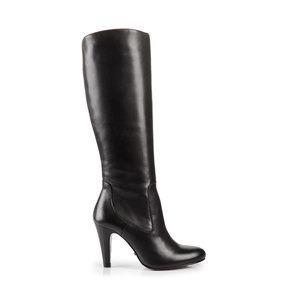 74c7ab96e1bfd8 Buffalo Stiefel in schwarz aus glattem Leder
