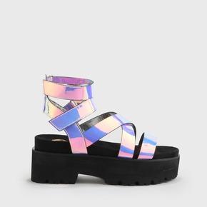 ca637195a Elsie Sandal Platform Rainbow
