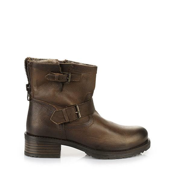 Boots fourrées Buffalo marronBuffalo JR8BXrtHxC