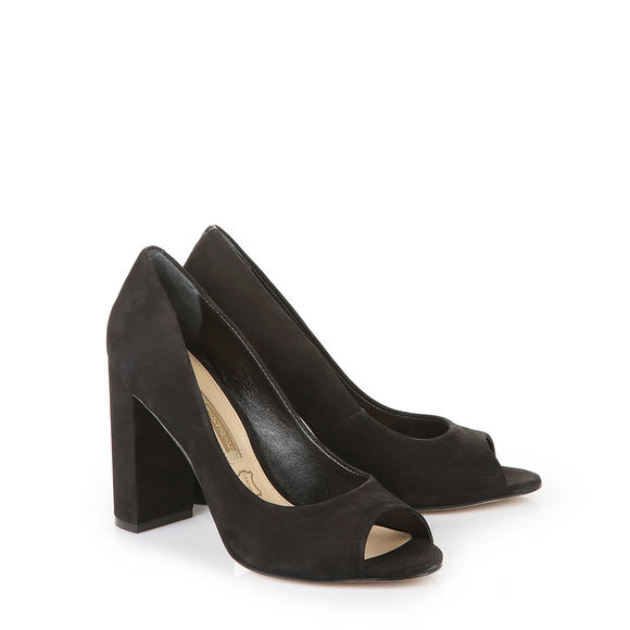 Sandales à talon Buffalo noires avec bout ouvertBuffalo j5bASVpg