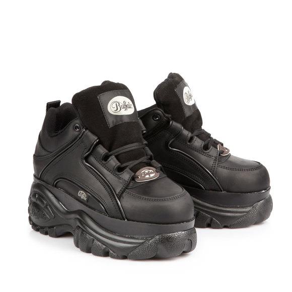 Buffalo Classic low leather sneakers Buffalo 9v3Wcb2