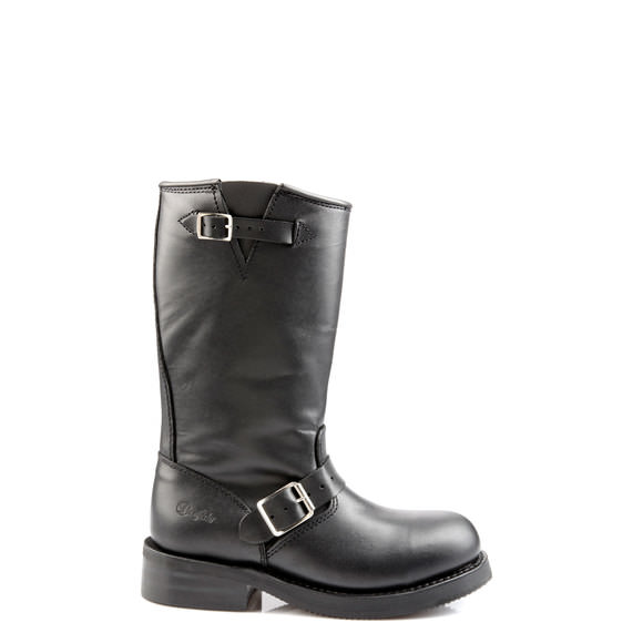 Boots motardes en cuir Noir YQ1gO60