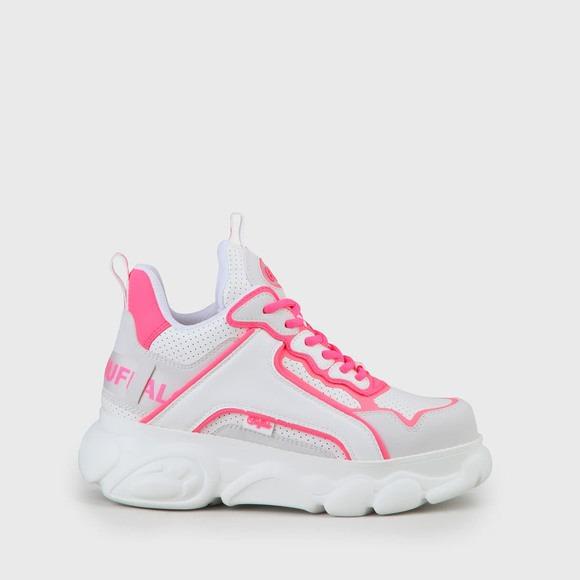 CLD Chai sneaker whiteneon pink
