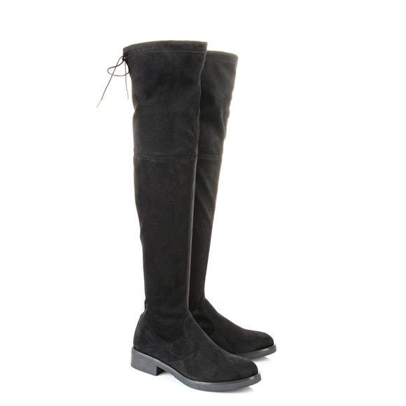 5b80da8d8e76 Buffalo over-knee boots in black buy online in BUFFALO Online-Shop ...