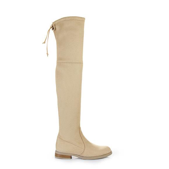 Sandales à talon plateau Buffalo beigesBuffalo