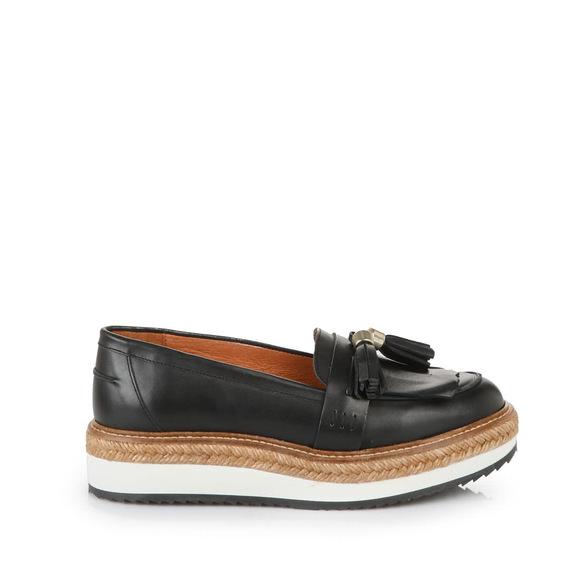 e7643a0cfd3c Buffalo platform loafers in black buy online in BUFFALO Online-Shop ...