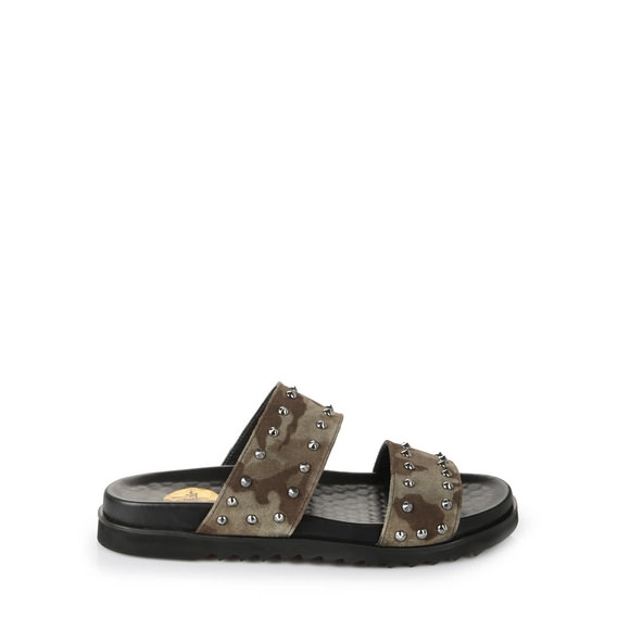 668b4a8dff7 Buffalo men s sandals in camouflage green buy online in BUFFALO Online-Shop