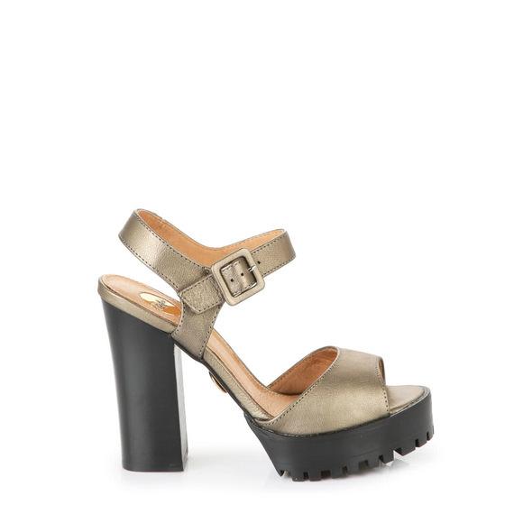 6f488d47178c Buffalo gold metallic platform sandals buy online in BUFFALO Online-Shop