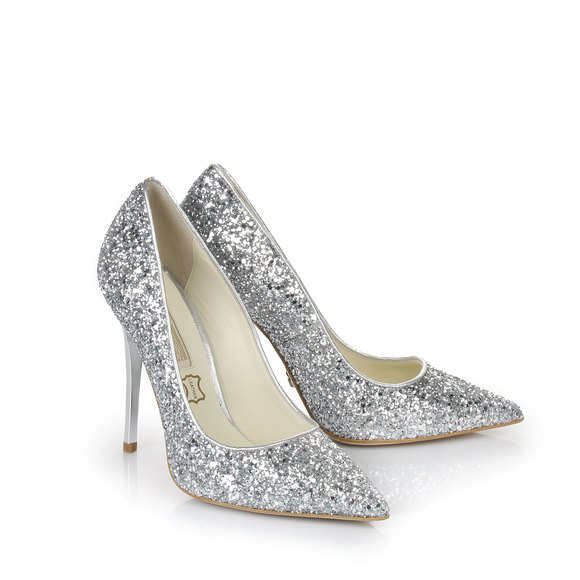 Buffalo glitter pumps in silver buy online in BUFFALO Online-Shop ...