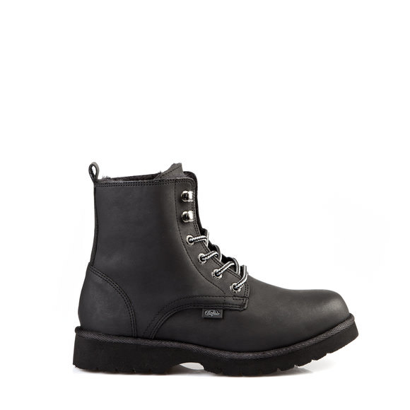 df87e78f0fa4 Gefütterte Buffalo Booties in schwarz mit Profilsohle online kaufen    BUFFALO®