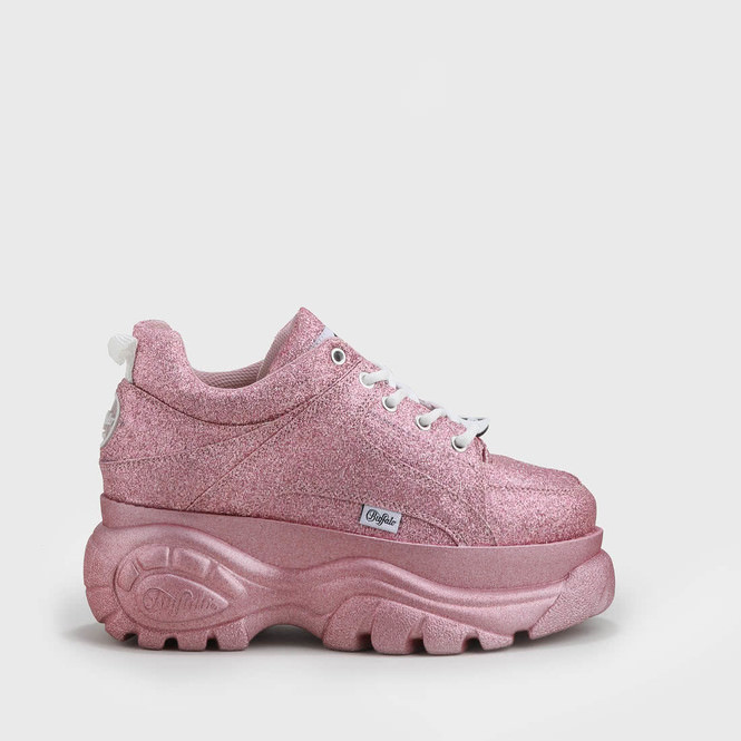 360456adad09 Buffalo Classics Low glitter pink buy online in BUFFALO Online-Shop |  BUFFALO®