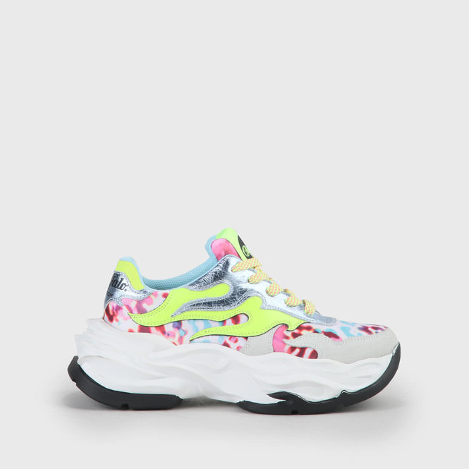 Eyza Sneaker Leder weißleomulti online kaufen | BUFFALO®