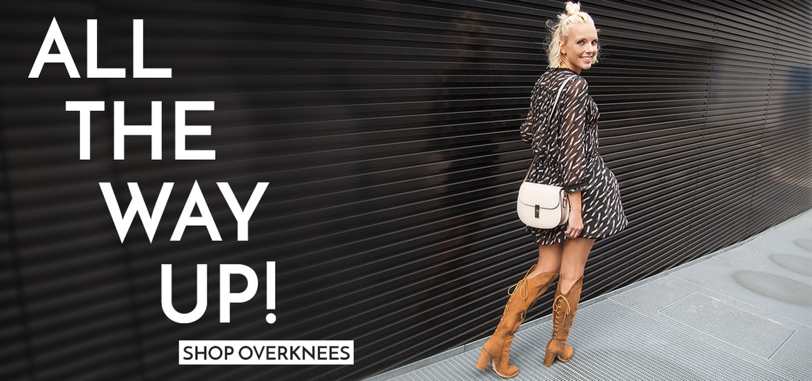 All the way up! Shop Overknees!