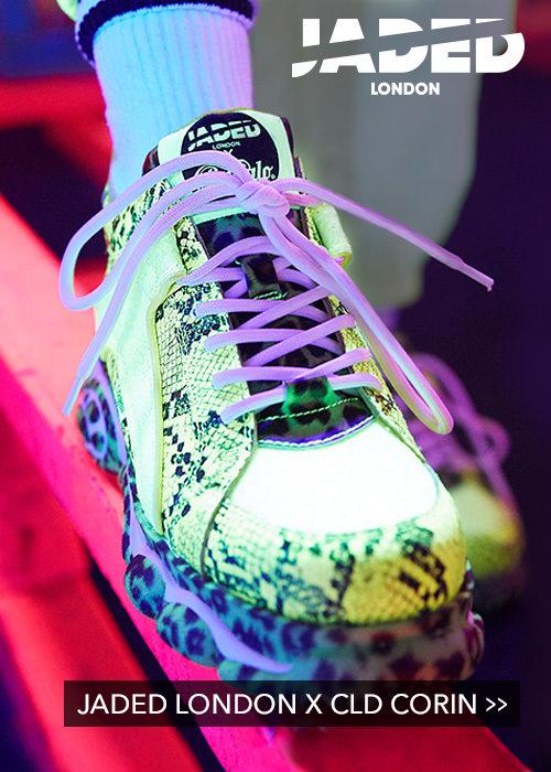 f5a674433a0d96 CLD Corin Sneaker Lederoptik weiß