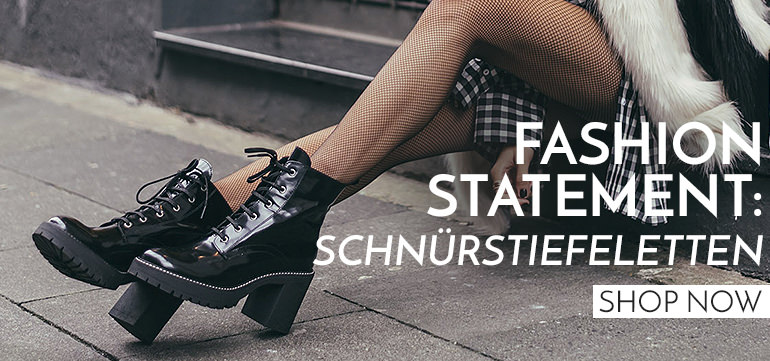 Fashion Statement: Schnürstiefeletten