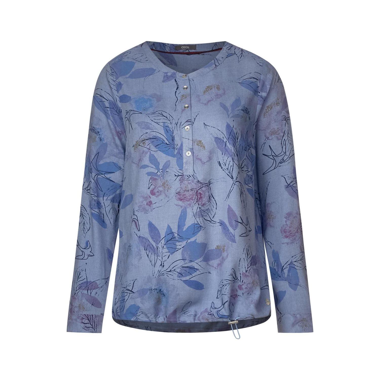 special for shoe shop best sellers cheap price CECIL Melange Bluse mit Blumen   die dodenhof Online ...