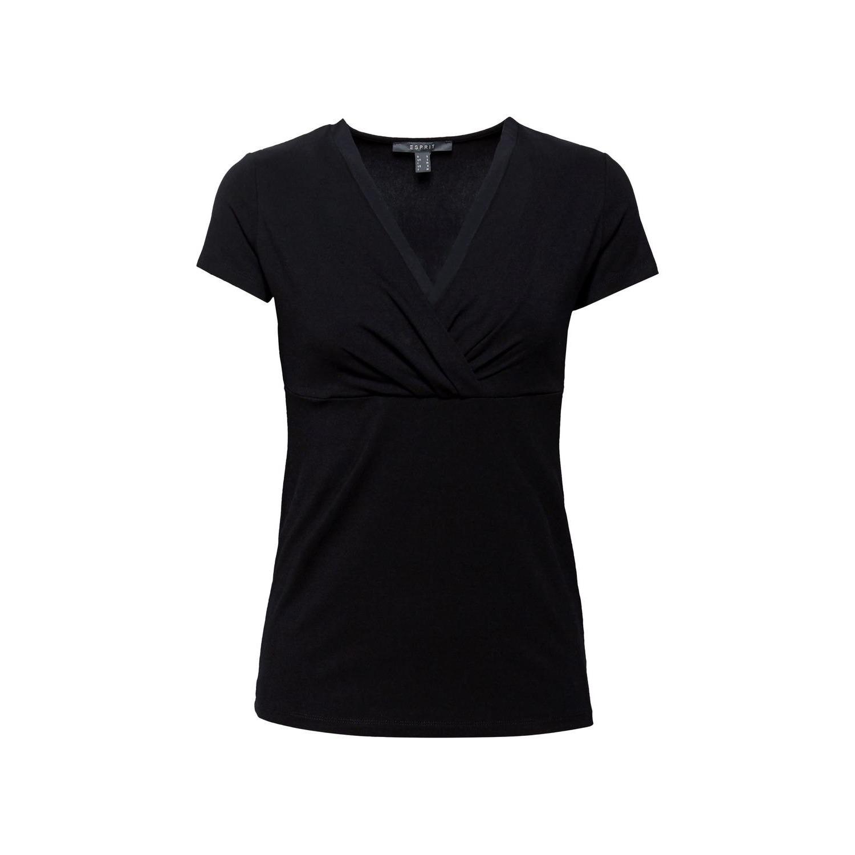Esprit Stretch Shirt mit Layer Wickeleffekt | die dodenhof