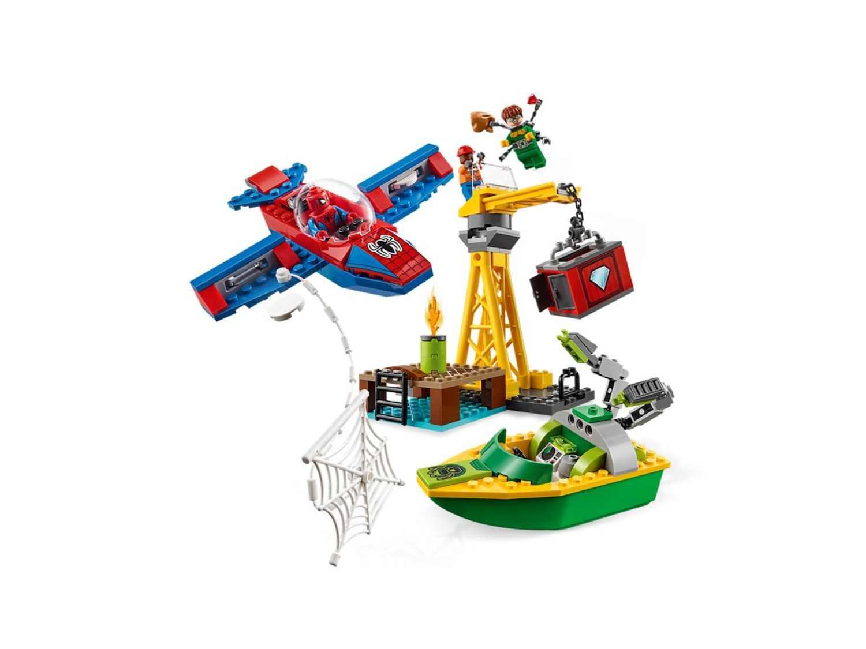 Spider-Man LEGO Marvel Super Heroes 76134 Diamantenraub mit Doc Ock