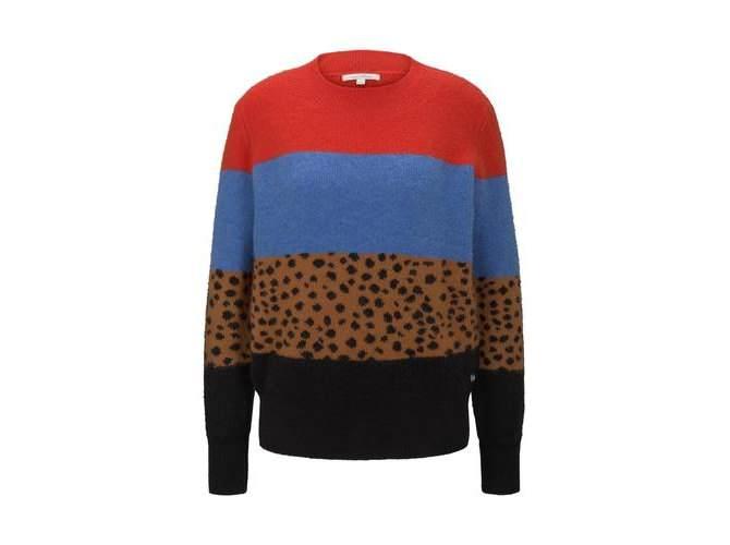 Tom Tailor Denim Pullover mit Colourblocking | die dodenhof