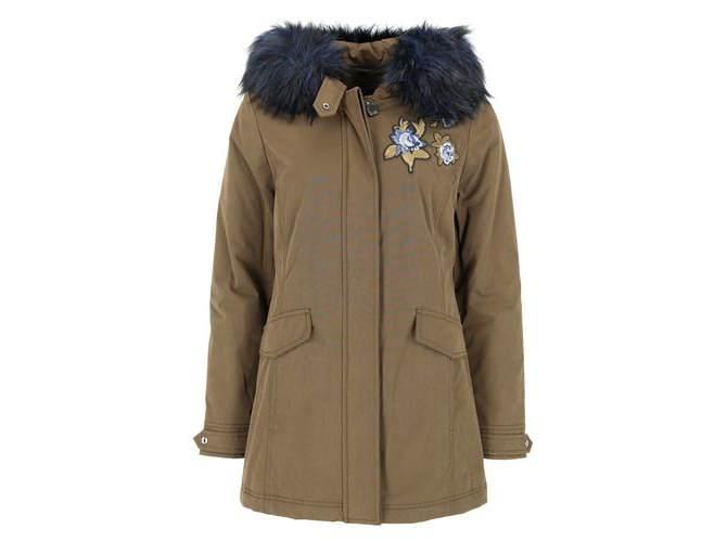 online shop wholesale dealer classic fit Fuchs Schmitt Parka mit Fake Fur Weather Protection | die ...