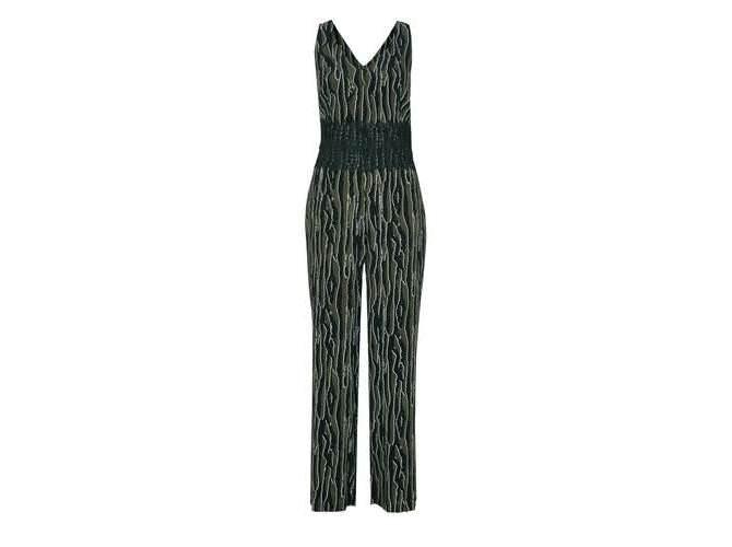 online hier attraktive Farbe Mode-Design s.Oliver BLACK LABEL Jumpsuit mit Spitzenbeleg | die ...